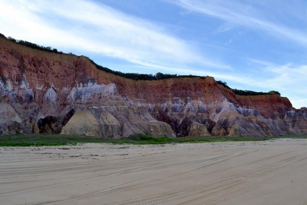 Falésias, praia do Gunga