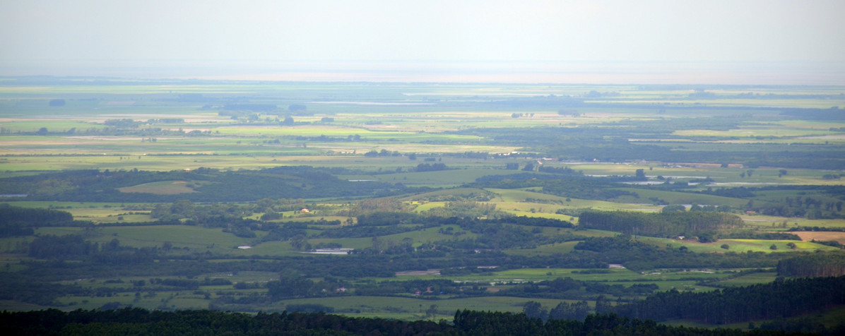 Lagoa dos Patos a partir do Cerro Torre