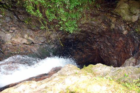 Cascata subterrânea