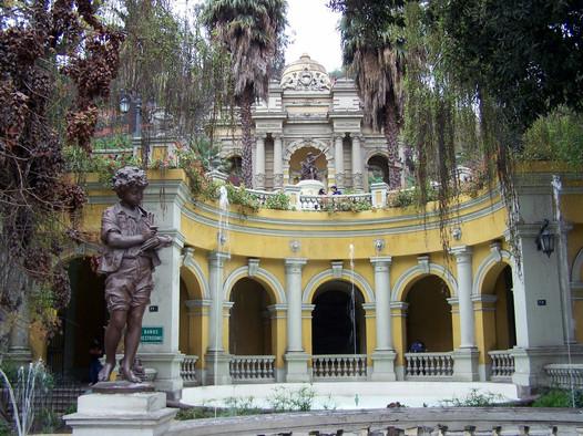 Santiago, Santa Lucia hill