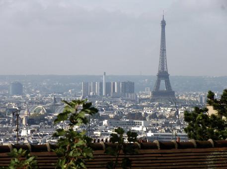 Paris, Tour Eiffel from Montmatre