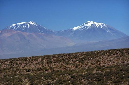 nevados San Pedro y San Pablo