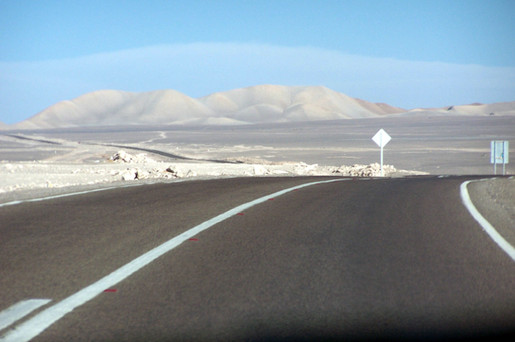 Calama, on the way to San Pedro