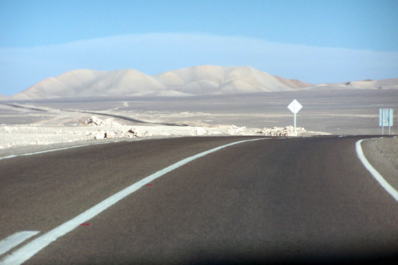 Calama, on the way to San Pedro