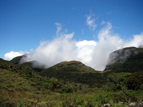 Urubici, trilha nascenete do Rio Pelotas