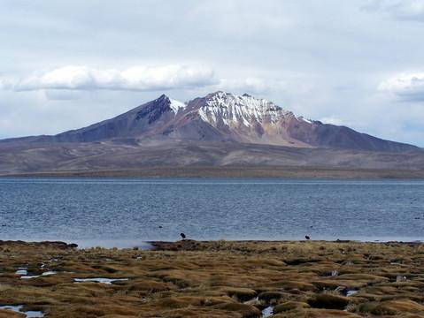 Chungara Lake - Quisiquisini mountain