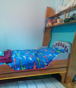 Kids Pirate Ship Storage Bed