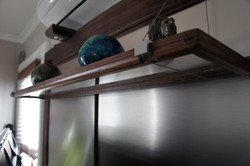 Clear Bottom Suspended Shelving
