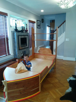 Kids Pirate ship boat bed