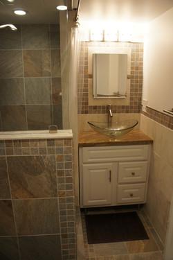 Earthy and Elegant Zen Bathroom