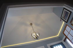 Vaulted entry ceiling