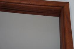 Custom Mahogany moldings