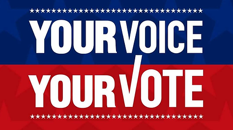 Your voice, your vote