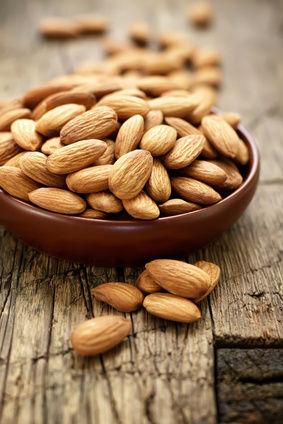 perdre du poids et amandes, et fruits oleagineux