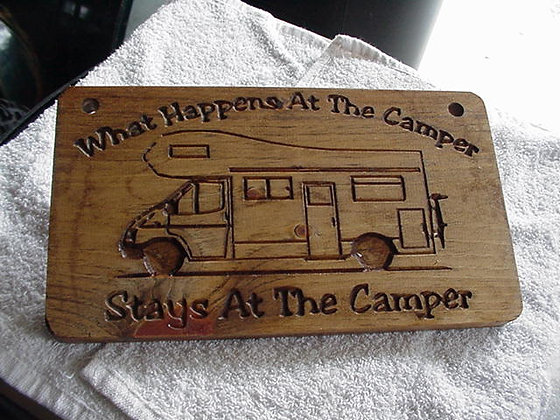 What happens at the camper (Class C)