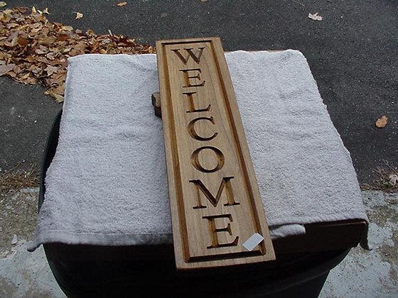 Welcome (Vertical)