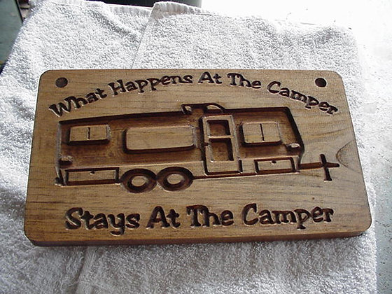 What happens at the camper (Trailer)