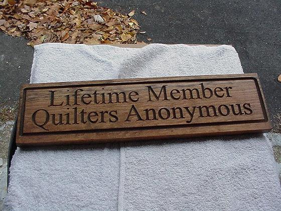 Lifetime Member QA