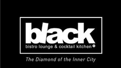 Black Bistro lounge logo