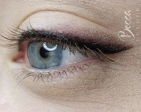 Intruding 🦊FOXY LINER🦊 this technique of #eyeliner utilizes 3 colors to achieve this sleek and sop