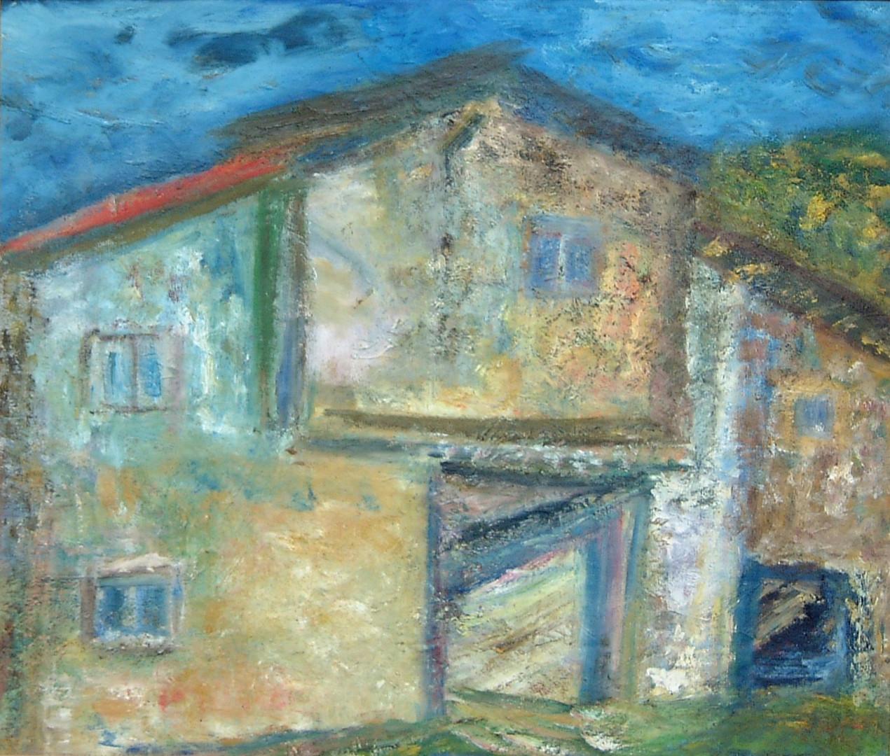 Bersaitsia, 71 x 84 cm Oil on canvas