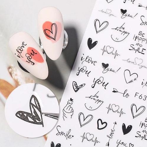 Kalp Tırnak Dövme