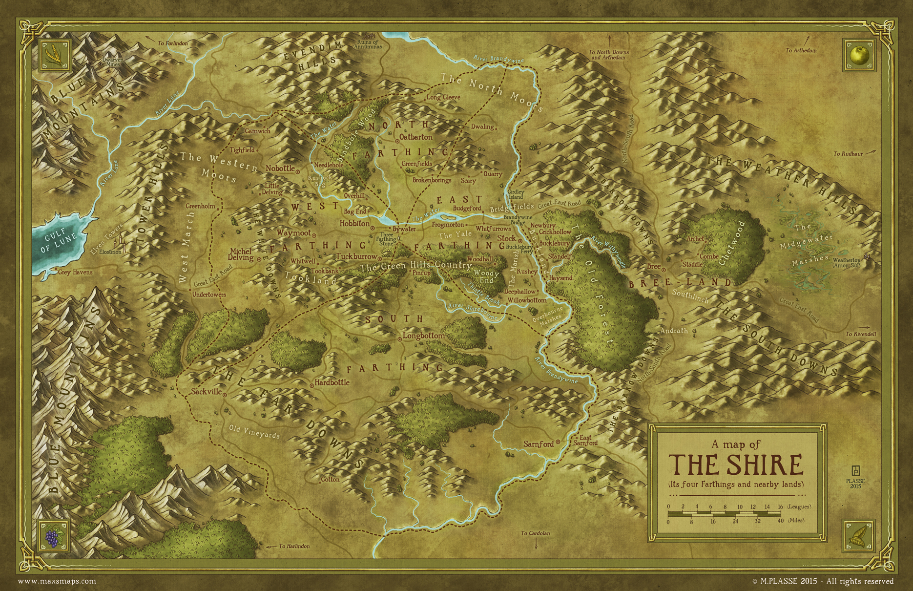 The Shire (from LOTR)