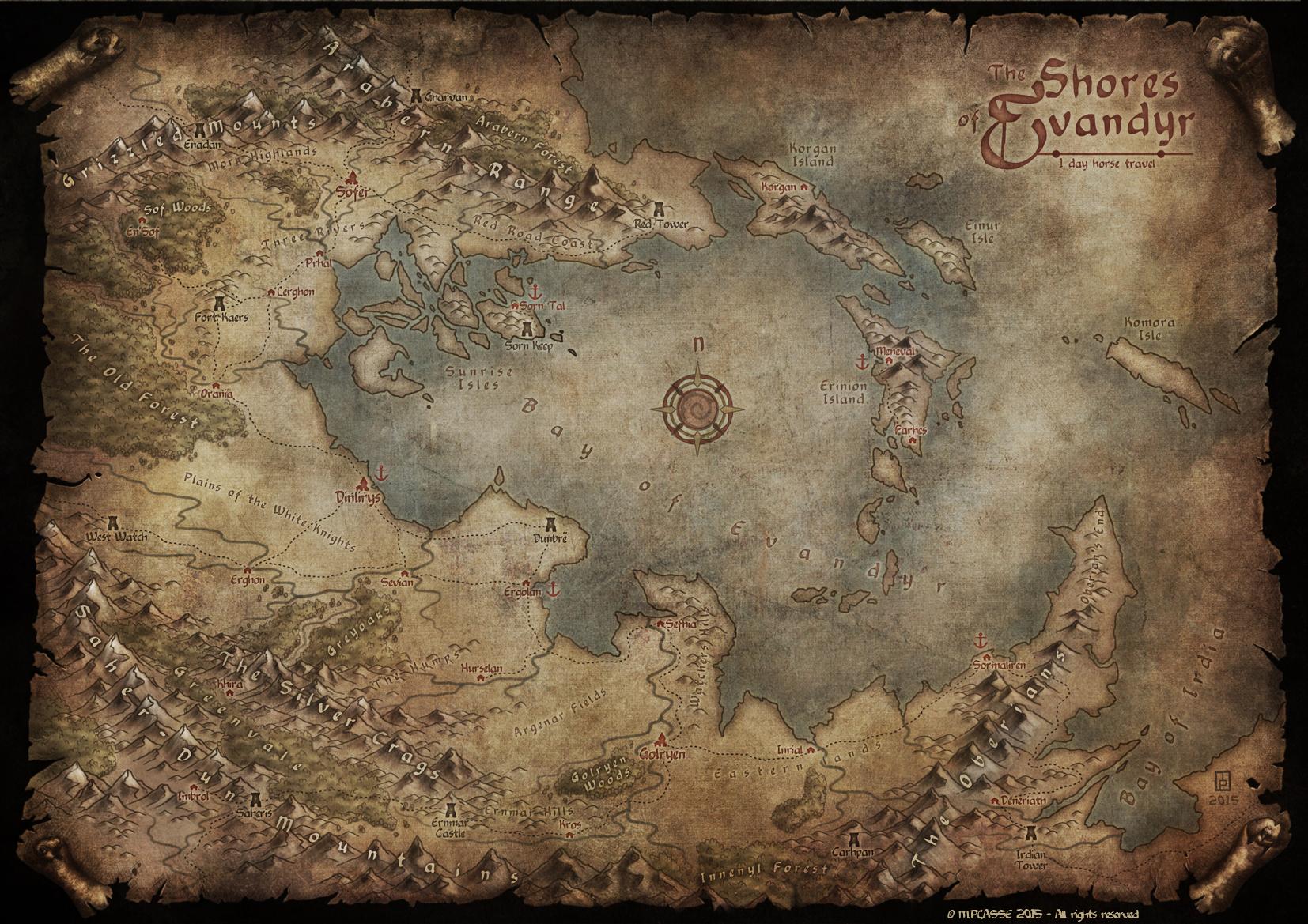 Shores of Evandyr