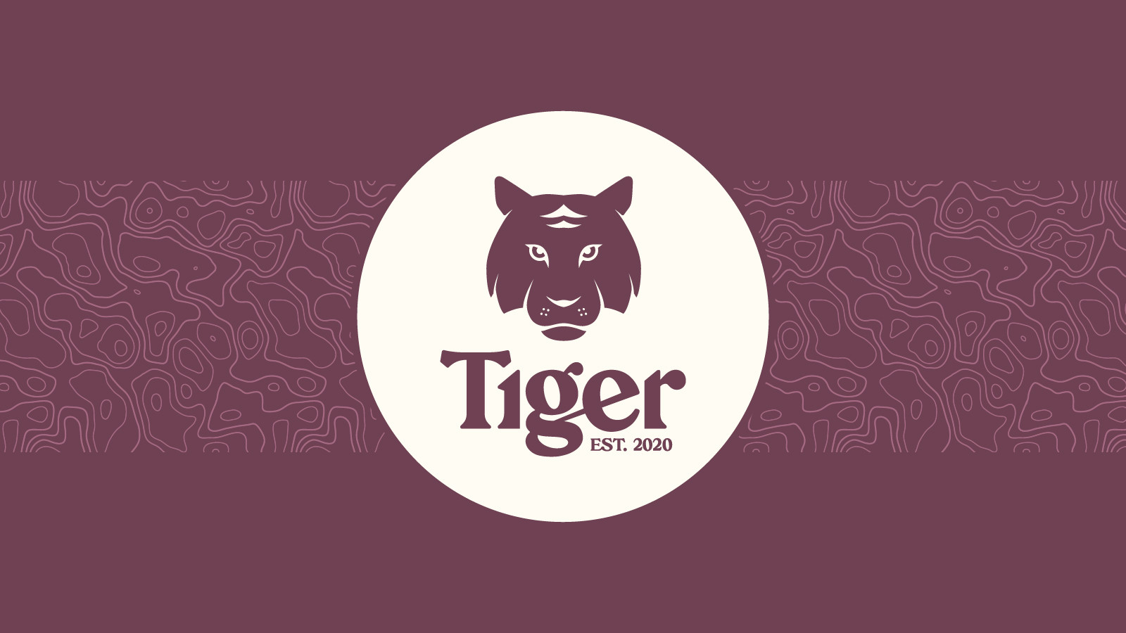 Tiger Logo Slide 1