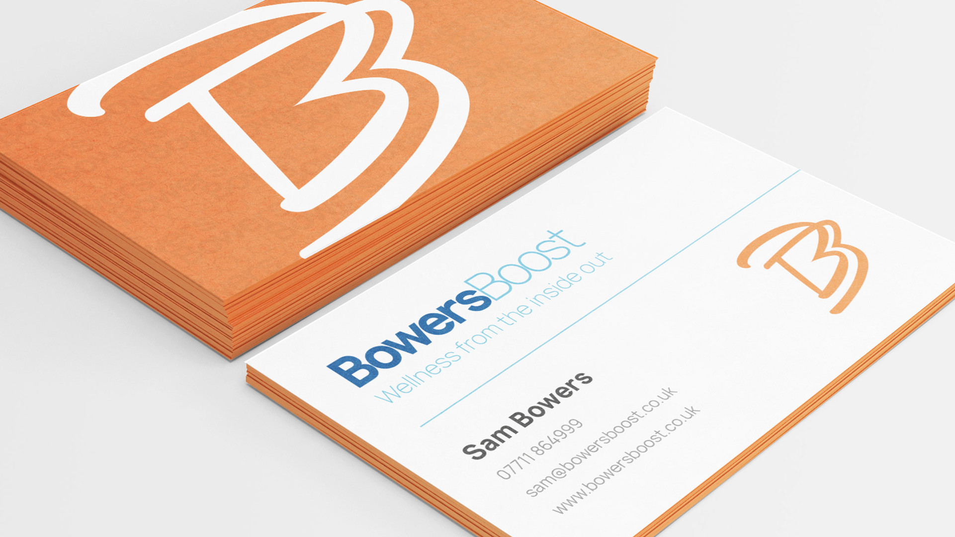 Bowers Boost Business Cards