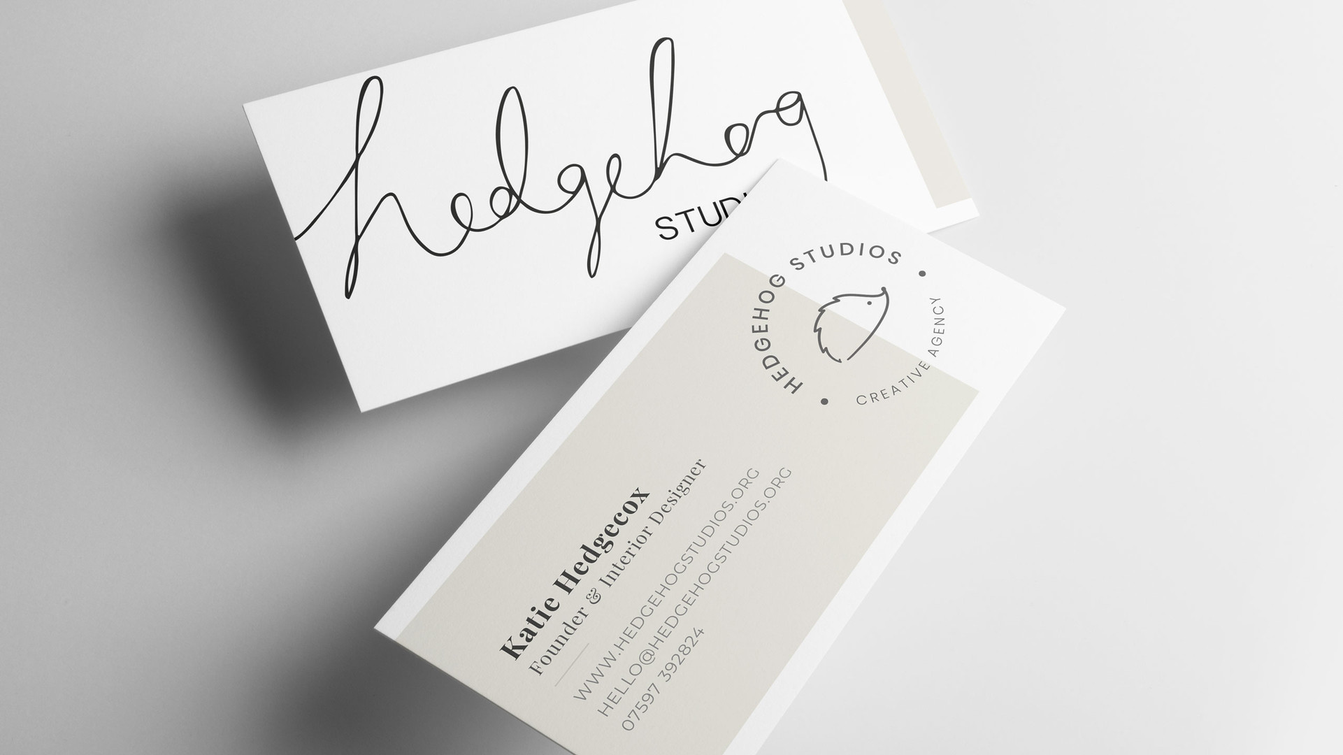 Hedgehog Business Cards