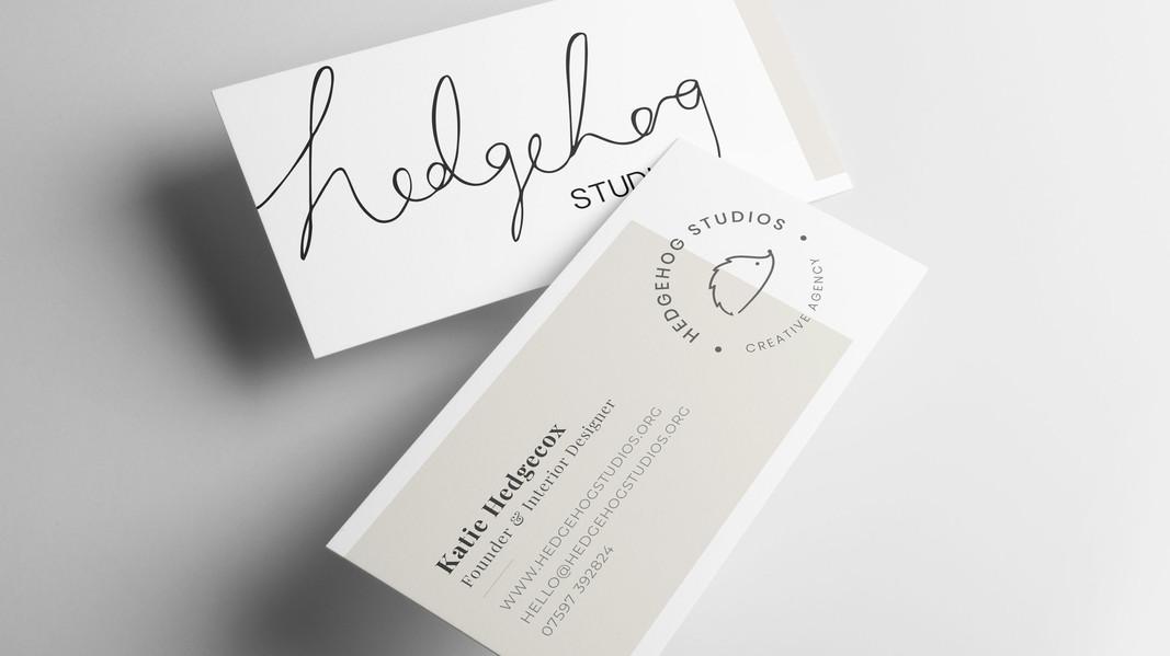 Hedgehog Business Cards