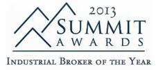Reno Industrial Broker of the Year - Tom Miller