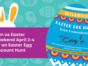 Introducing the First Ever MidTown Egg Discount Egg Hunt