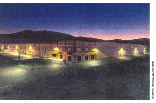 Empty Stead Building - Northern Nevada