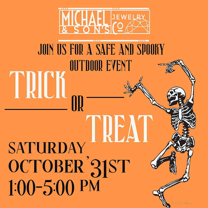 Michael & Sons Jewelers, Halloween Trick or Treating
