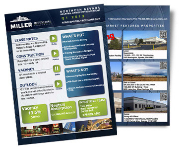 Q1 2013 Northern Nevada Industrial Market Status and Forecast