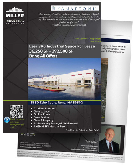 292,500-36,250 SF Industrial Space For Lease Stead NV