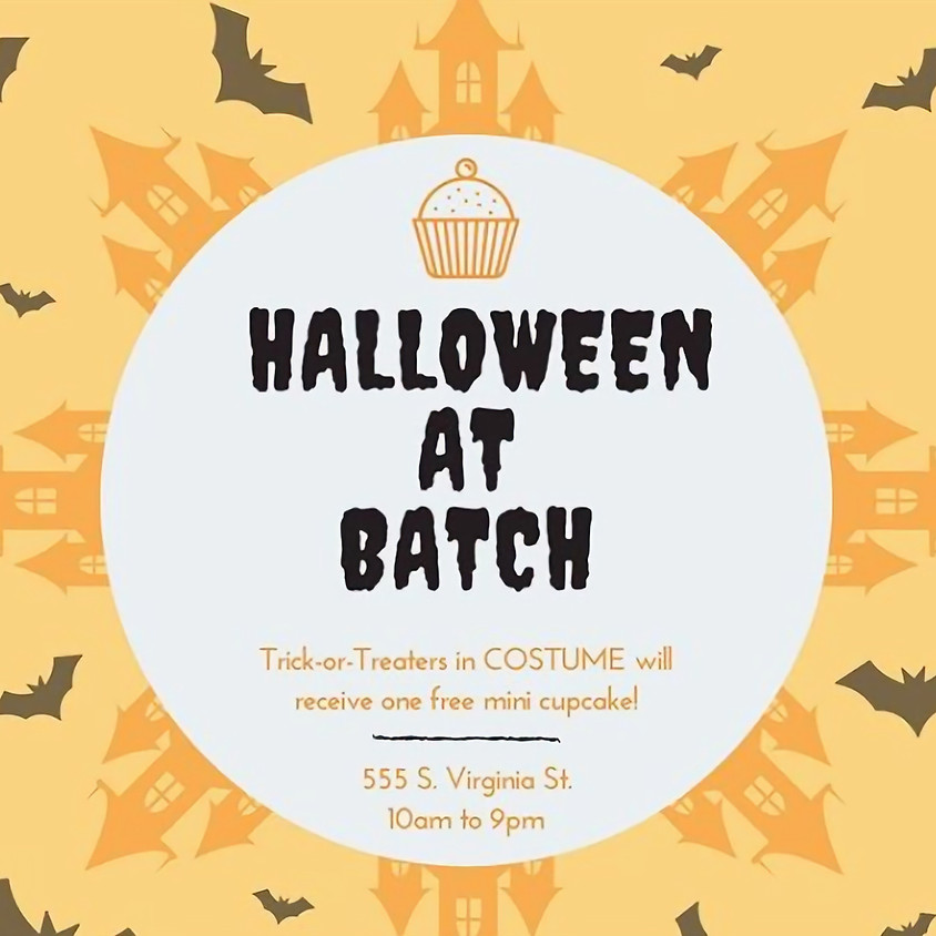 Halloween at Batch Cupcakery
