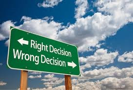 wrong-right decisions