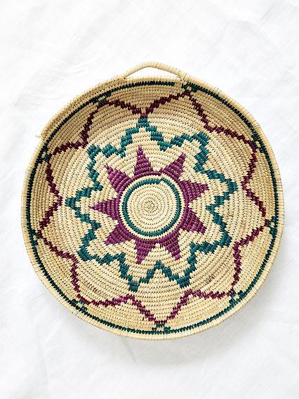 plateau-berbere-fleur-decoration-maroc-i