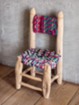 chaise-enfant-boucherouite-maroc-decorat