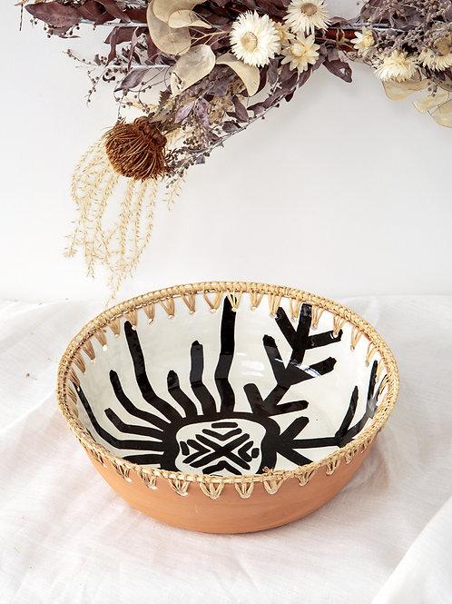 Saladier terre cuite GHZAL (moyen)