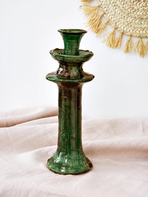 Bougeoir vert TAMEGROUTE