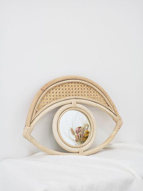 miroir-cannage-decoration-vannerie-maroc