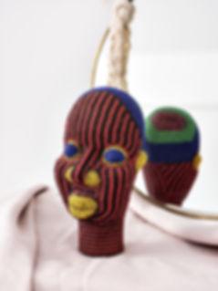 tete-art-afrique-perle-terre-cuite-decor