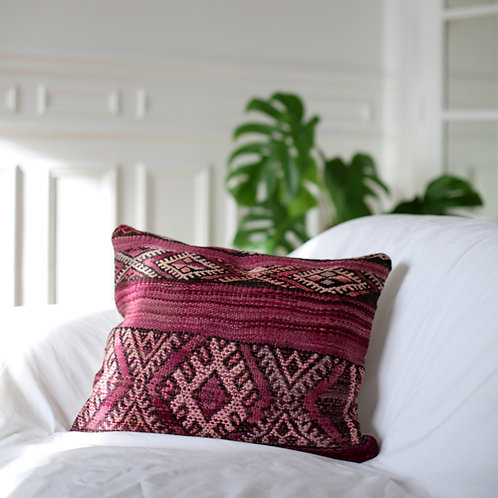 Coussin PINK KILIM 19