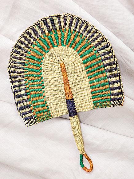 eventail-afrique-ghana-bolga-decoration-
