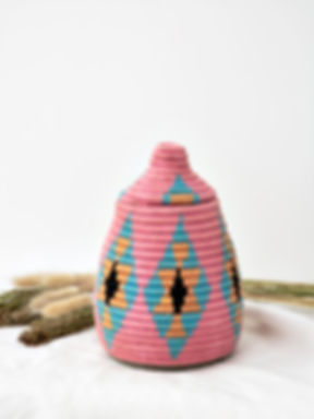 corbeille-berbere-rose-decoration-maroc-
