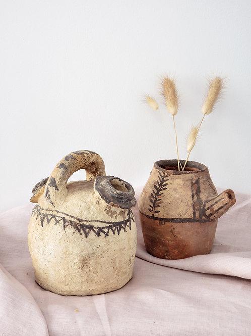 Lot de 2 poteries du RIF